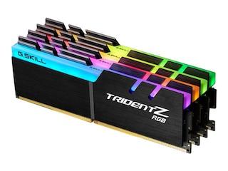 G.Skill 32GB (4x8GB) Trident Z RGB DDR4-3866 CL18 (18-19-19-39) DIMM RAM Kit -