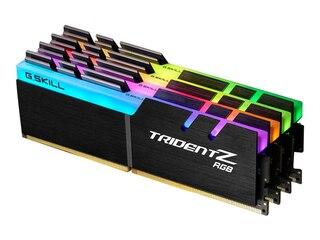 G.Skill 32GB (4x8GB) Trident Z RGB DDR4-3000 CL15 (15-16-16-35) DIMM RAM Kit -