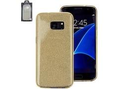Perlecom Backcover Passend für Samsung Galaxy S7 Gold