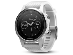 Garmin Fenix 5S, Smart Watch, Silber/Weiß