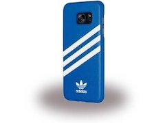 Adidas Moulded Case 031950, Backcover, Galaxy S7 Edge, 100% Polycarbonat, Blau/Weiß