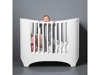 Leander Babybett Weiss inkl. Umbauset -