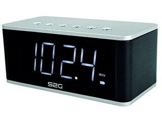 Sound2go WAKEUP, Bluetooth-Lautsprecher, Silber-Schwarz -
