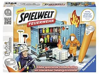 Ravensburger tiptoi® mini Spielwelt Feuerwehr: Gefahrguteinsastz -