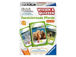 Ravensburger tiptoi® Wissen & Quizzen: Faszinierende Pferde -