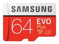 Samsung microSDXC EVO Plus UHS-I Class 10 64GB (MB-MC64GA/EU)