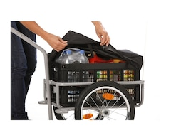 Fischer Fahrrad Lasten-Fahrradanhänger »Profi Plus III«