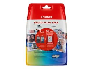 Canon PG-540XL/CL541XL Tintenpatrone Original Cyan Magenta Schwarz Yellow (5222B014) -