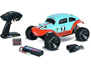 Carson RC Sport Beetle Warrior Brushed 1:10 RC Modellauto Elektro Truggy Heckantrieb 100% RtR 2,4 GHz -