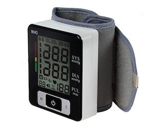 Aozzy Digitale Handgelenk-Blutdruckmessgerät mit Herzfrequenzerkennung (CK-W133) -