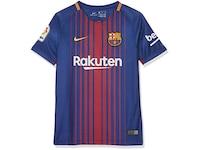 Nike FC Barcelona 2017/2018 Kinder Fußball-Trikot Heim Größe: 164