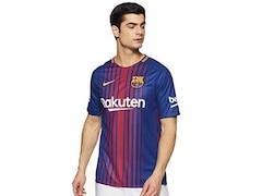 Nike FC Barcelona 2017/2018 Herren Fußball-Trikot Heim Größe: S