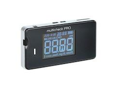Lifetouch C3 520 Multicheck PRO schwarz - Messung von Blutzucker, Harnsäure, Cholesterin