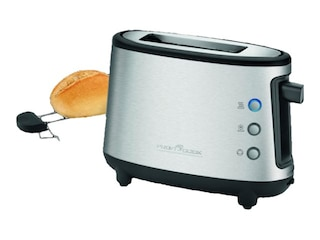 ProfiCook PC-TA 1122, Toaster, 500 Watt, Inox/Schwarz -