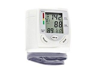 FGESUN 89555 Handgelenk-Blutdruckmessgerät inkl. Pulsmessung und Herzschlag-Detektor -