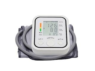 FGESUN 5755 Oberarm-Blutdruckmessgerät inkl. Pulsmessung und Herzschlag-Detektor -