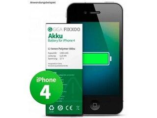 GIGA Fixxoo iPhone 4 Akku von GIGA Fixxoo - Einzelakku -
