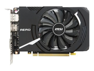 MSI GeForce GTX 1050Ti Aero ITX 4GB (V809-2606R) -