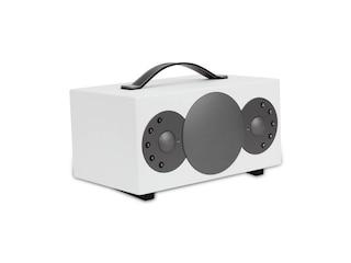 TIBO SPHERE 2 - Bluetooth Lautsprecher (Bluetooth, W-LAN Schnittstelle, Weiß) -