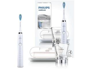Philips HX 9339/89 DiamondClean, Elektrische Zahnbürste, Weiß -