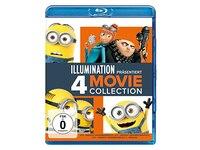 Animations- & Kinderfilme Ich - Einfach unverbesserlich 1-3 & Minions (Blu-ray)