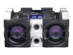 Lenco PMX-150, DJ Mixer System, 75 Watt, Schwarz