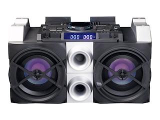 Lenco PMX-150, DJ Mixer System, 75 Watt, Schwarz -