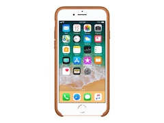 Apple Original iPhone 8 / 7 Leder Case-Sattelbraun