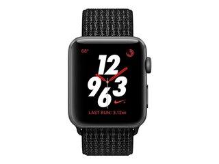 Apple Watch Nike+ LTE 38mm Aluminiumgehäuse Space Grau Nike Sport Loop Schwarz -