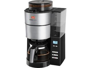 Melitta AromaFresh Kaffeefiltermaschine schwarz/Edelstahl (1021-01) -