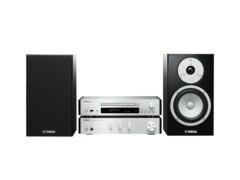 Yamaha MCR-N670 Kompaktanlage (CD, USB, Silber)