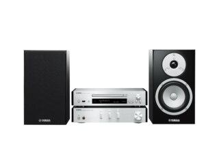 Yamaha MCR-N670 Kompaktanlage (CD, USB, Silber) -
