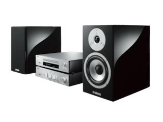 Yamaha MCR-N870D Kompaktanlage (CD, USB, USB DAC, Tuner, Schwarz/Silber) -