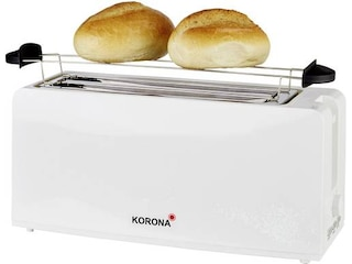 Korona 21043 Toaster Weiß (1200 Watt, Schlitze: 2) -