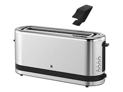 WMF 04.1412.001 KÜCHENminis® Toaster Edelstahl matt (900 Watt, Schlitze: 1)