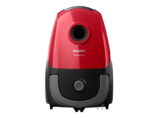 Philips FC 8243/09 PowerGo (mit Beutel, Allergiefilter, A, Rot) -