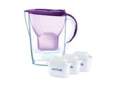 Brita 089979 fill&enjoy Marella Cool, Wasserfilter, MAXTRA+, Purpur