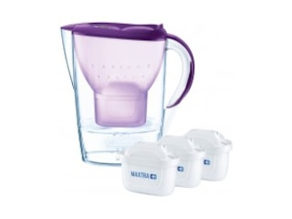 Brita 089979 fill&enjoy Marella Cool, Wasserfilter, MAXTRA+, Purpur -