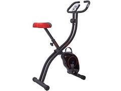 AsVIVA Ergometer Cardio H14 Sport X-Bike Heimtrainer, Schwarz, M
