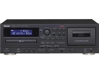 Teac AD-850-B CD-Player/Kassendeck-Kombination (Schwarz) -