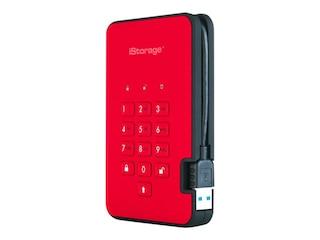iStorage diskAshur2 3TB firey red (IS-DA2-256-3000-R) -