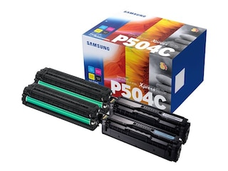 Samsung CLT-P504C schwarz, cyan, magenta, gelb Toner -