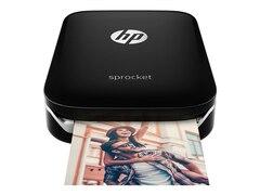 HP Sprocket Photo Drucker schwarz ZINK