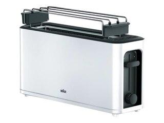 Braun HT 3110 WH PurEase Langschlitz-Toaster weiß -