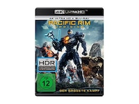 Science Fiction & Fantasy Pacific Rim: Uprising (4K Ultra HD Blu-ray + Blu-ray)