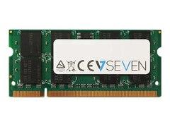 V7 DDR2 1 GB SO DIMM 200-PIN 667 MHz / PC2-5300 (V753001GBS)