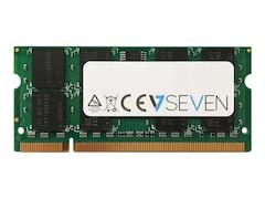 V7 2GB DDR2-667 SO-DIMM CL5 Single (V753002GBS)