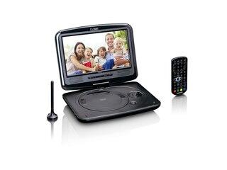 Lenco DVP 9463 BK Tragbarer DVD-Player Schwarz -