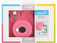 Fujifilm Instax Mini 9 Travel Set Flamingo Pink