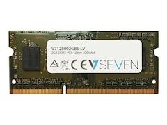 V7 DDR3L-1600 SO-DIMM CL11 Single 2GB (V7128002GBS-LV)
